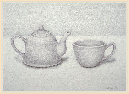Still life in subtle value 1