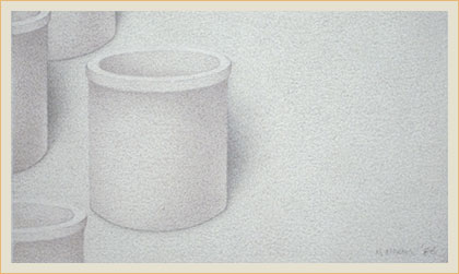 Still life in subtle value 15