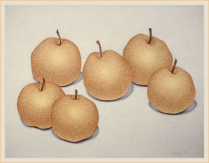 Six applepears
