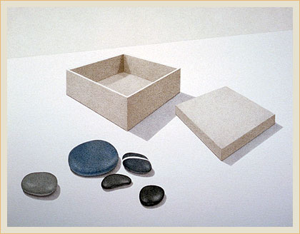 Open box five stones